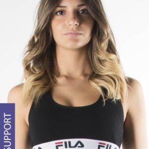 Sportovní podprsenka FILA Underwear Black